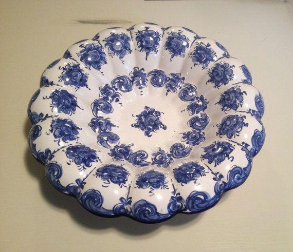 Vestal Alcobaca large bowl by VintageSowles on Etsy