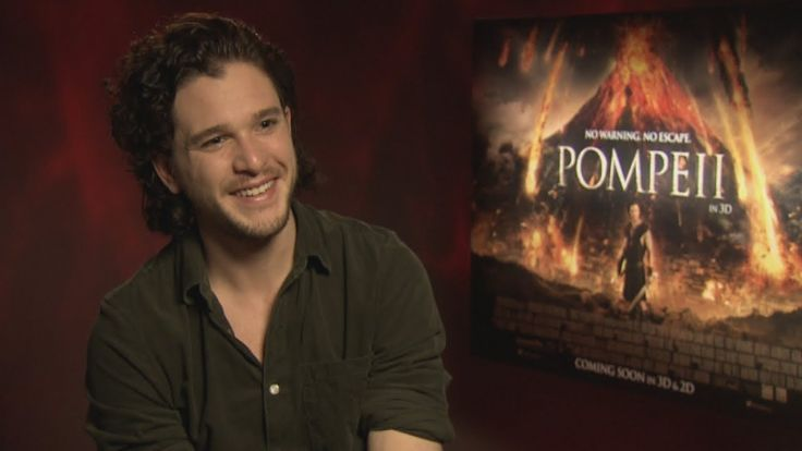 Kit Harington Interview: Abs, love and new film Pompeii