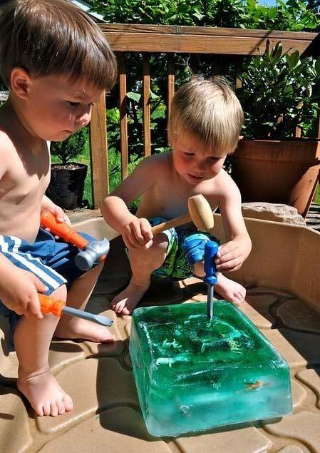 Kids DIY Fun for a hot summer day!