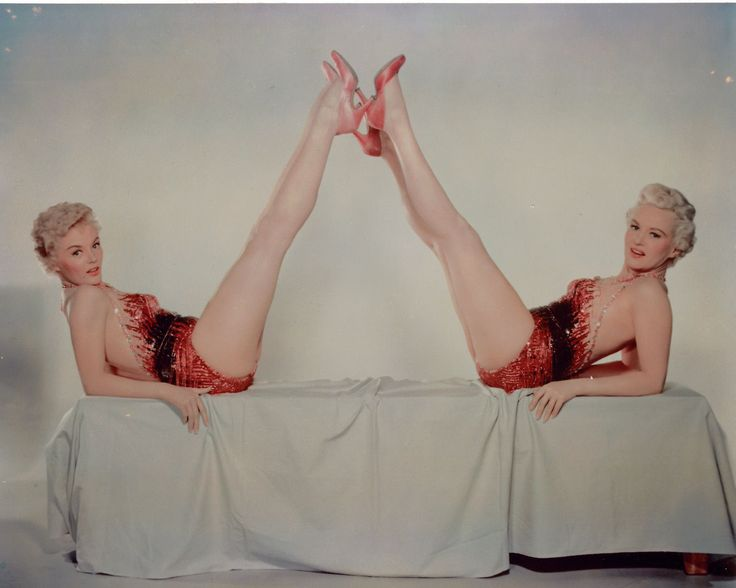 Sheree North leggy Betty Grable 8x10 glossy photo F6131