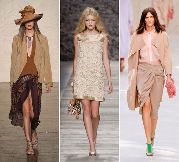 Spring/ Summer 2014 Color Trends - Sand