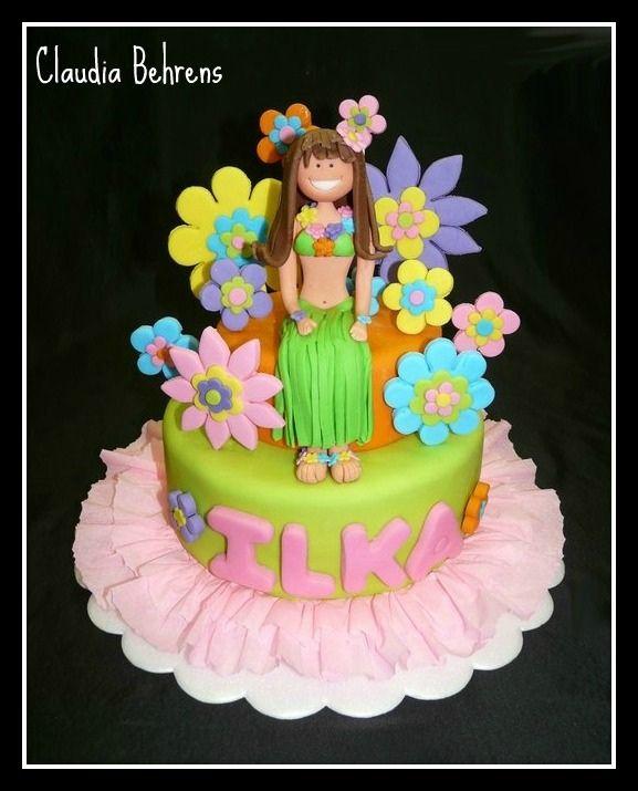 hawaian girl cake - claudia behrens | claudia behrens dekori… | Flickr