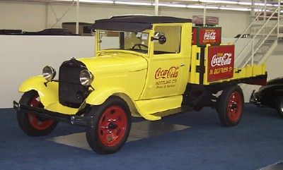 1929 Ford Model A Coca Cola Truck Ford Motor Co. Detroit, Mi. 1903- ? Date