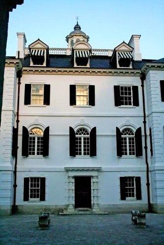 Edith Wharton's former home, The Mount, in Lenox, Massachusetts.