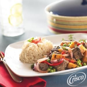 Peruvian Lomo Saltado from Crisco®