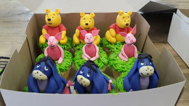 Winnie the Pooh cupcakes!