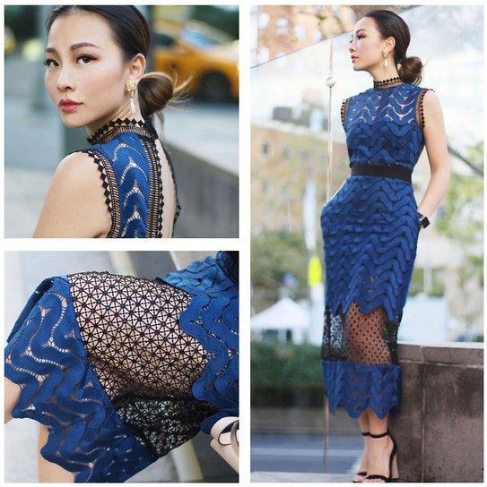 Tracy Qiu -  - Self Portrait Dress