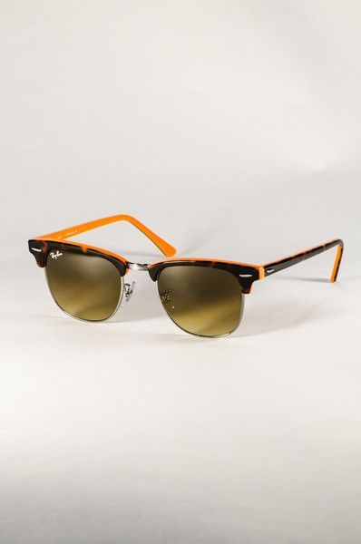 6908710d26 Ray Ban Clubmaster Rb2428 Sunglasses Orange   United Nations System ...
