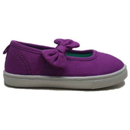 Faded Glory Toddler Girls' Mary Jane Shoe, Toddler Girl's, Size: 9, Purple
