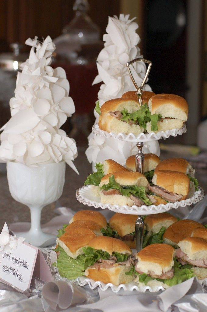 Ideas for Baby Shower Food {click to see more party images + see the food list in Project Details} #babyshower #partyfoodTradewind Tiaras, Secret Gardens, Paper Flowers, Flower Topiaries, The Secret Garden, Parties Ideas, Bridal Shower, Baby Shower