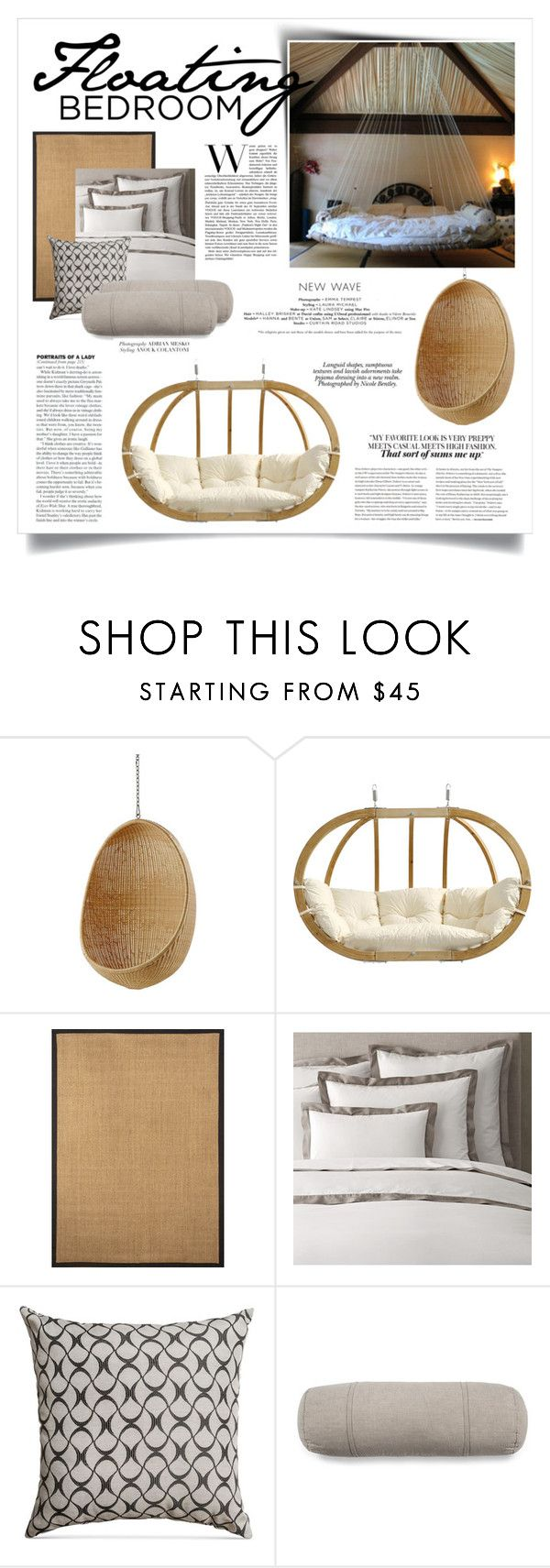 Home decor collage from january 2017 featuring currey company - Floating Bedroom By Boxthoughts On Polyvore Featuring Interior Interiors Interior Design