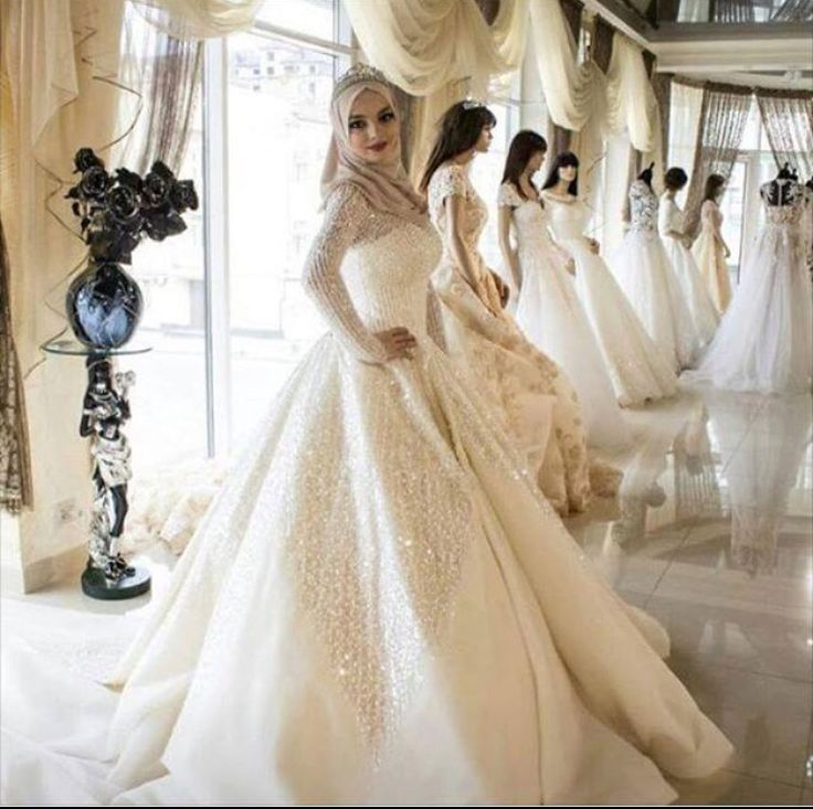 Beautiful Ivory bridal princess gown