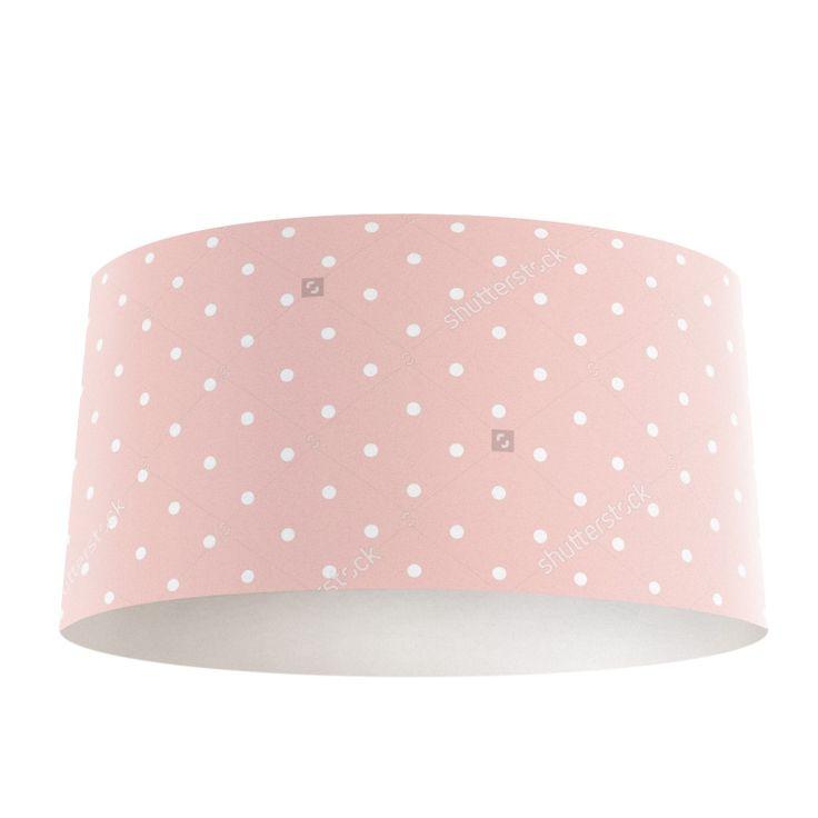 Lampenkap Dots   Bestel lampenkappen voorzien van digitale print op hoogwaardige kunststof vandaag nog bij YouPri. Verkrijgbaar in verschillende maten en geschikt voor diverse ruimtes. Te bestellen met een eigen afbeelding of een print uit onze collectie.  #lampenkap #lampenkappen #lamp #interieur #interieurdesign #woonruimte #slaapkamer #maken #pimpen #diy #modern #bekleden #design #foto #baby #babykamer #roze #stippen #meisjeskamer #meidenkamer #schattig #lief