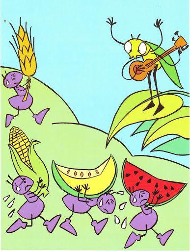 A tücsök és a hangya