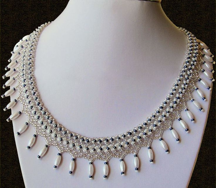 Free pattern for necklace Marriage Day | Beads Magic | Bloglovin'