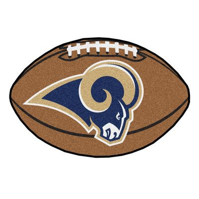 FANMATS NFL - Los Angeles Rams Football Mat