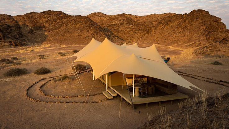 Being the only property in the Skeleton Coast region, with only eight exclusive tents, Hoanib Skeleton Coast Camp is a bucket list experience. Experience it on our 10 Day Luxury Namibia Safari #luxurytravel #namibia #skeletoncoast