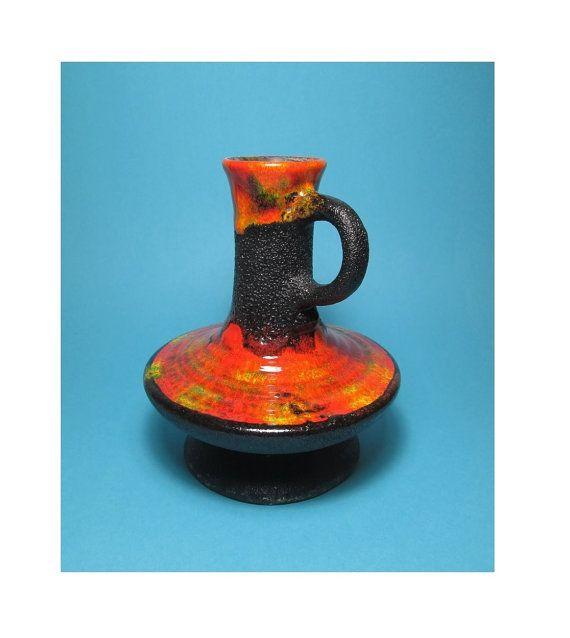 Walter Gerhards KG Vase 1040/19 Vintage West German by PeteStop