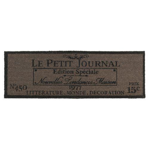 Zerbino in fibra di cocco 40 x 120 cm PETIT JOURNAL