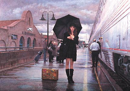 There are Places to Go - Steve Hanks - World-Wide-Art.com - $595.00
