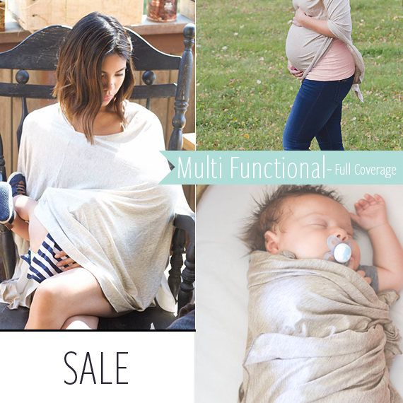 SALE $27.00 Nursing Cover Poncho | Neutral Nursing Cover | Car Seat Cover| Swaddle blanket, ad | Breastfeeding Cover By Cover Me Ponchos