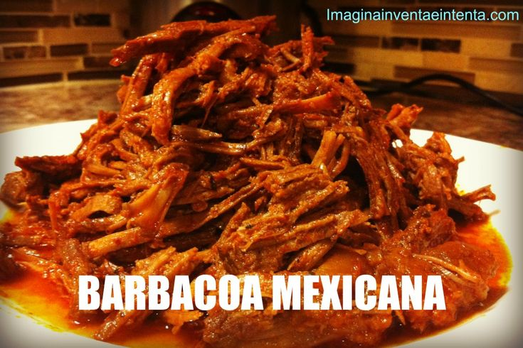 Slow Cooker Mexican Barbecue - This blog has a lot of authentic Mexican recipes.
