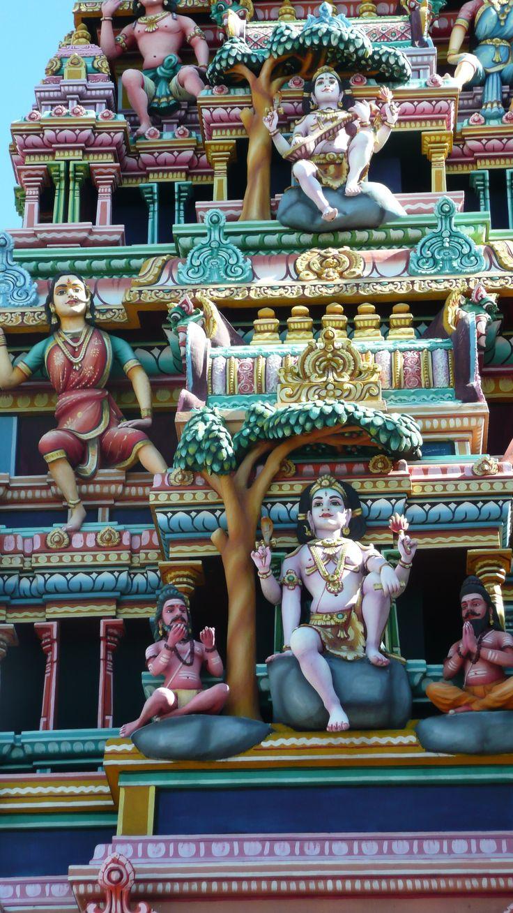 Temple tamoul - Ile Maurice