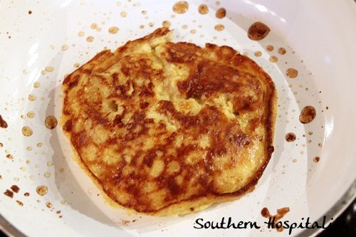 Paleo Banana Pancakes(This is an ,easy single serving recipe. Great for a quick pre-run/race breakfast or even a snack. I like to spice it up with cinnamon, clove, nutmeg and ginger. Great go to breakfast idea when the pantry gets low!)