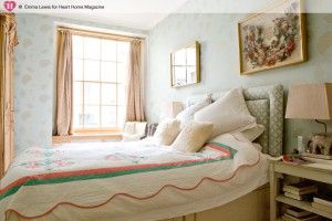 Een gezellige kleine slaapkamer