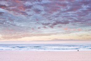 Meditative hues, Bondi Beach