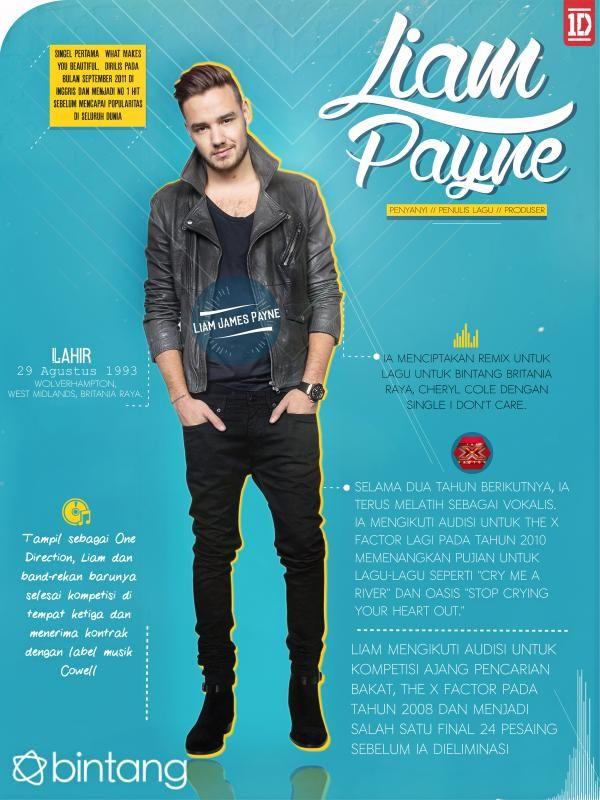 Tak hanya sebagai penyanyi, Liam juga berprofesi sebagai penulis lagu dan produser. #LiamPayne #OneDirection #MusicBio #Bintang #Indonesia