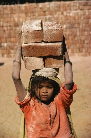 Try carrying 6 bricks on your head.