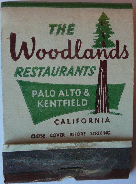 THE WOODLANDS RESTAURANT PALO ALTO CALIF | Flickr - Photo Sharing!