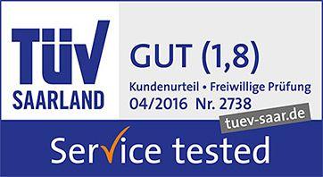 TüV Saarland - Gut 1,8 - Service Tested