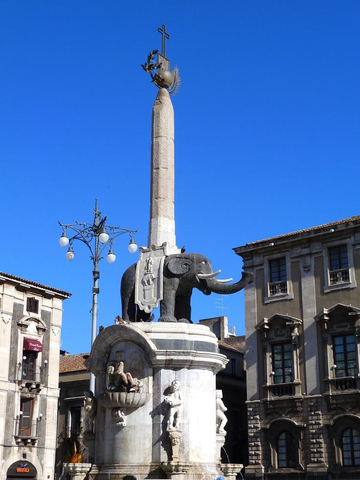 U Liotru  ( The elephant of Catania )  is the official symbol of the city