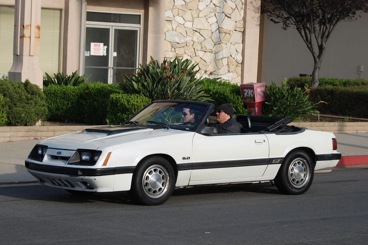 FORD MUSTANG 5.0 GT FOXBODY CONVERTIBLE | Navymailman | Flickr