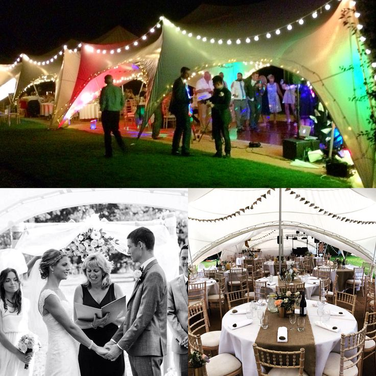 Wedding marquee ideas