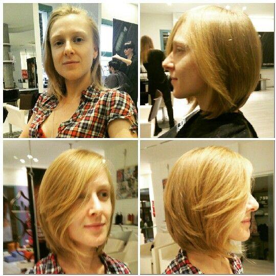 New hair look