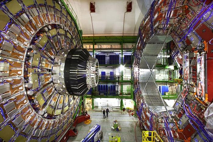 Geneva, Switzerland…. at CERN Large Hadron Collider.