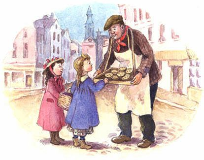 vintage muffin man   inkspired musings: Do You Know The Muffin Man? more nursery rhymes