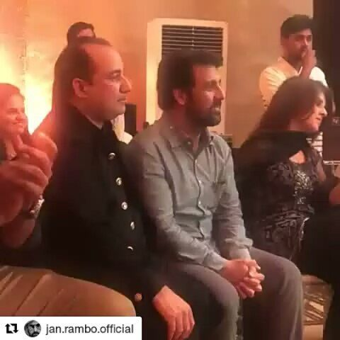 #Repost @jan.rambo.official (@get_repost)  Mr. And Mrs #rahatfatehalikhan son #birthdayparty #janrambo #Sanammarvi #omerakmal enjoyed the party about last night #hero #lollywoodking #pakistanihero #galaxylollywood #pakisrancelebrities #karachi #lahore #islamabad #lollywoodnews #instantlollywood #potd #celebritiespk #celebrity #instastar #lovemyfans#dct #pakistan #big #name #of #pakistan  #bollywood #superstar #latest