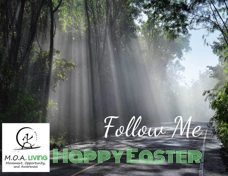 Follow Me / Happy Easter