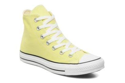 Trampki - Converse Chuck Taylor All Star Hi w modnym, żółtym kolorze