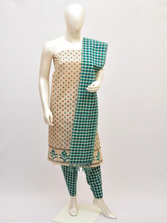 Cotton Woven Designer Dress Material [D10432939] | Pochampally Saree House