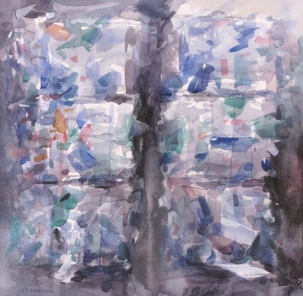Plastic, 2012. watercolours, cm 30x30