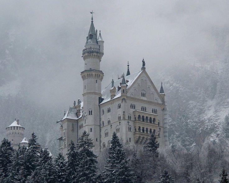 Зимний замок обои, картинки, фото