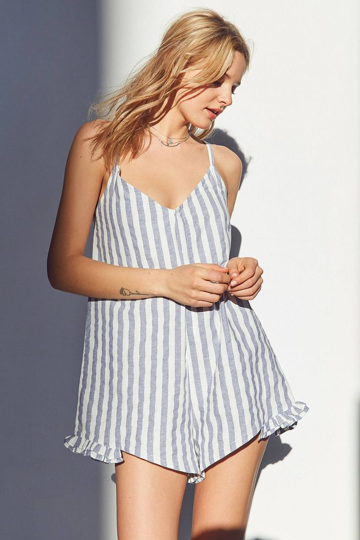 Slide View: 1: SIR The Label Marlo Ruffle Romper