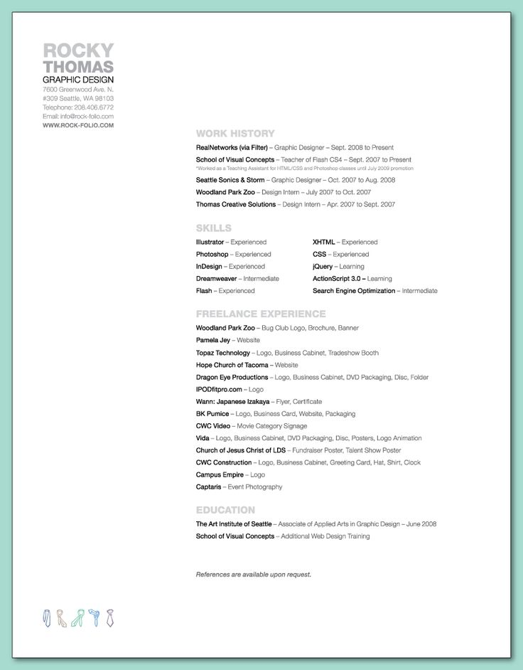 104 best resumes images on pinterest