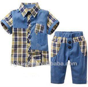 Baby Clothes Wholesale Summer Boy Clothes Set