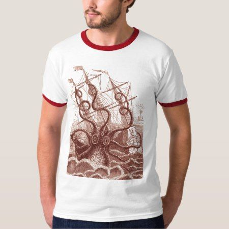 ship vs. octopus T-Shirt - click to get yours right now!